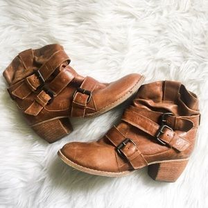 BP women's leather booties